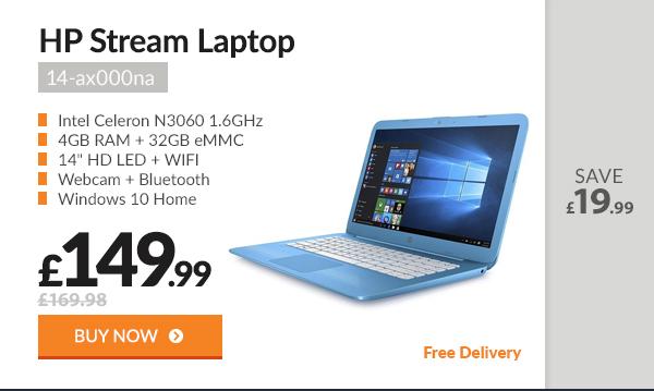 HP Stream 14-ax000na Laptop