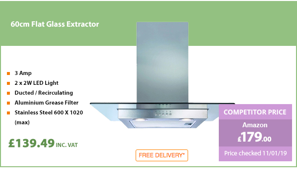 60cm Flat Glass Extractor