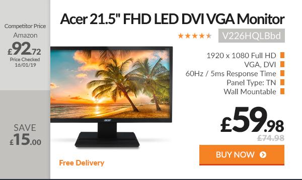 Acer 21.5 HD DVI VGA