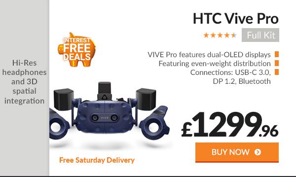 HTC Vive Pro Full Kit Bundle