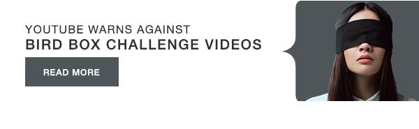 YouTube warns against Bird Box challenge videos