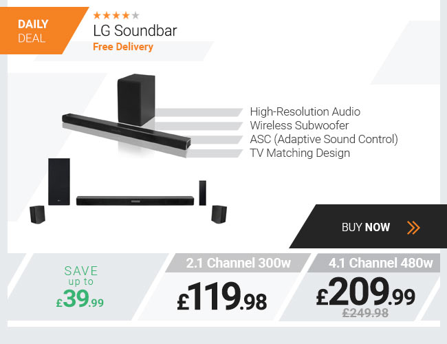 LG Wireless Soundbar