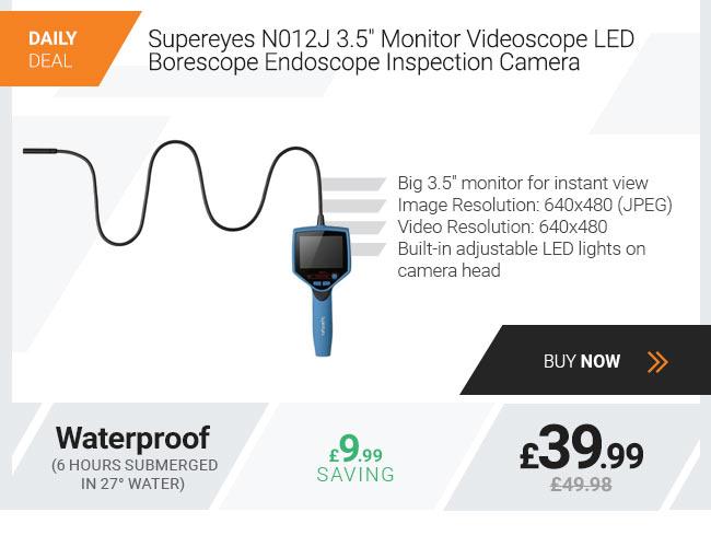 Xenta Borescope 3.5 inch Monitor