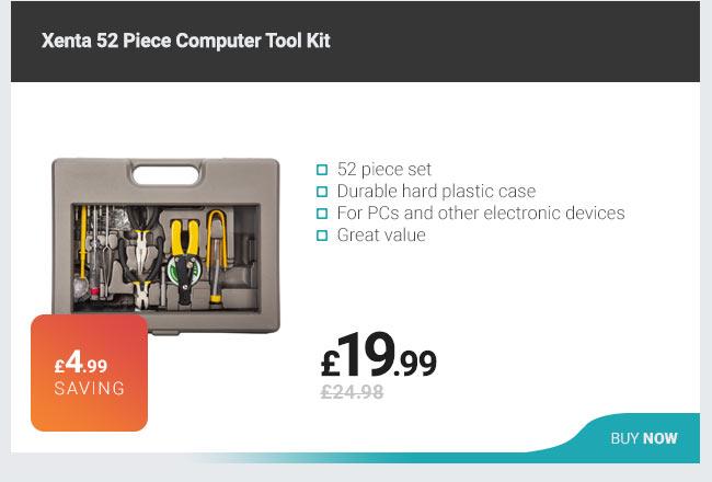 Xenta 52 Piece Computer Tool Kit