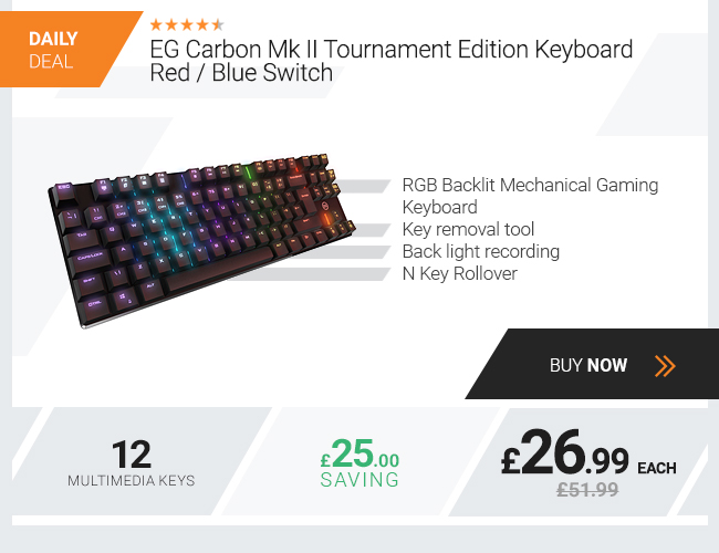 EG Carbon Mk II Tournament Edition Keyboard