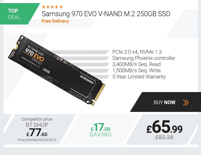 Samsung 250GB 970 Evo M.2 SSD