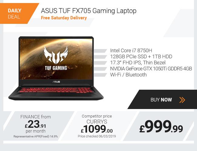ASUS TUF FX705 Gaming Laptop