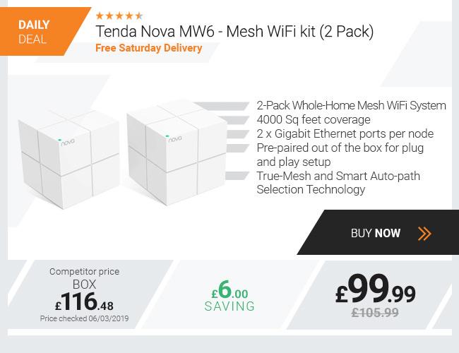 Tenda Nova MW6 - Mesh WiFi kit (2 Pack)