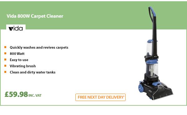 Vida 800W Carpet Cleaner