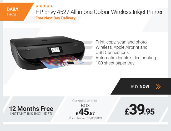 HP Envy 4527 All-in-one Colour Wireless Multifunction Inkjet Printer