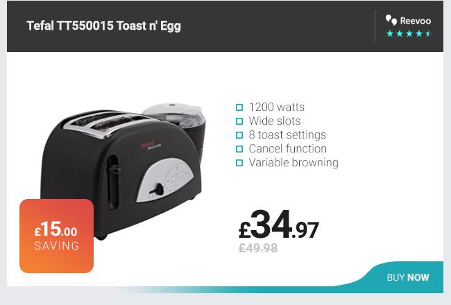 Tefal TT550015 Toast and Egg