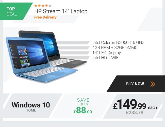 HP Stream 14-ax000na Intel Celeron Notebook