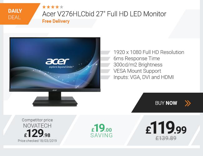 Acer V276HLCbid 27in Full HD LED Monitor