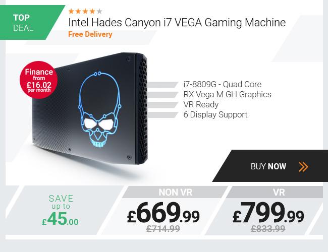 Intel Hades Canyon i7 VEGA Gaming Machine