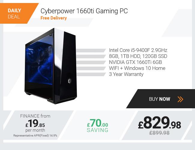 Cyberpower 1660ti Gaming PC