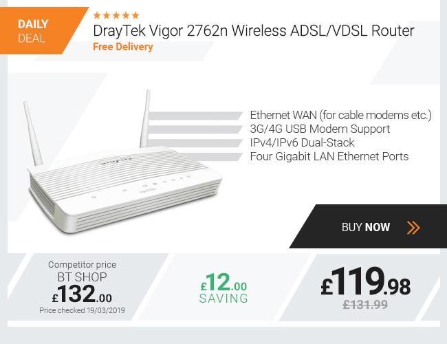 DrayTek Vigor 2762n Wireless ADSL VDSL Router