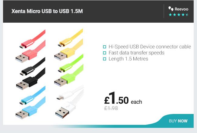 Xenta Micro USB to USB 1.5M