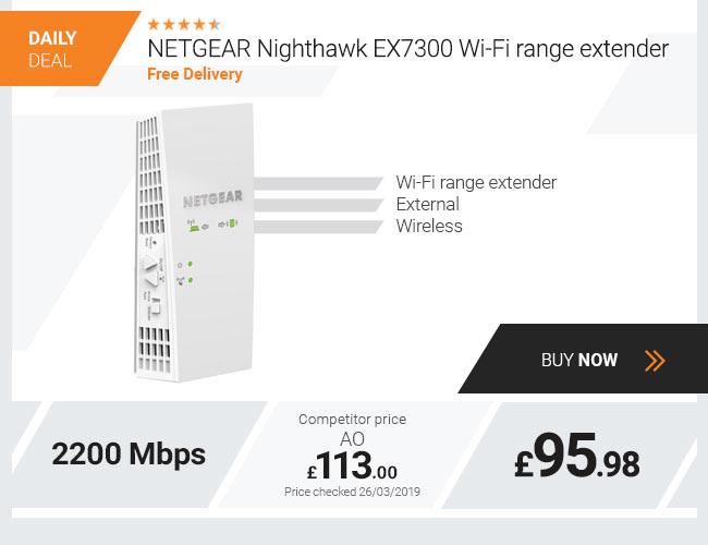 NETGEAR Nighthawk EX7300 Wi-Fi range extender