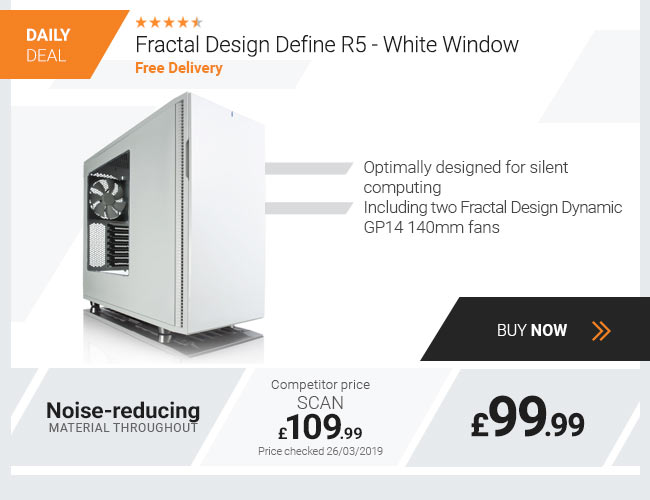 Fractal Design Define R5 - White Window