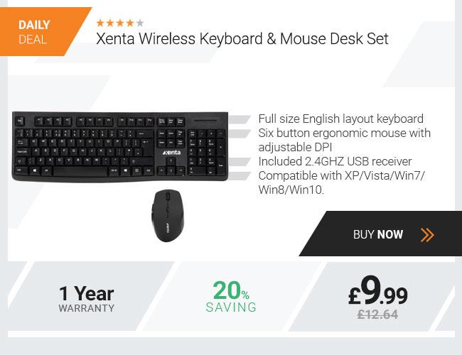 Xenta Wireless Desk Set