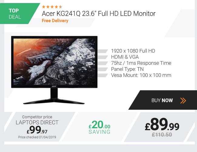 Acer KG241Q 23.6in Full HD LED Monitor