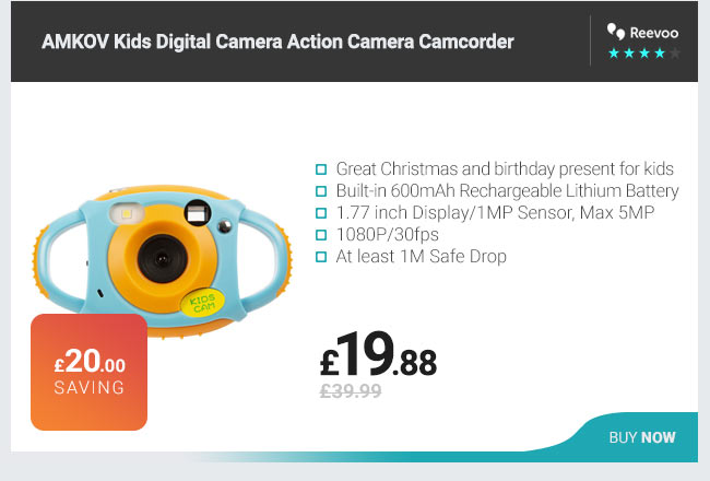 AMKOV Kids Digital Camera Action Camera Camcorder