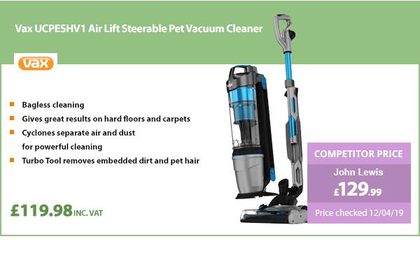 Vax UCPESHV1 Air Lift Steerable Pet Vacuum Cleaner