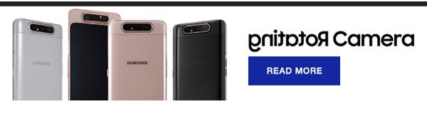 Samsung Galaxy A80 has rotating cameras