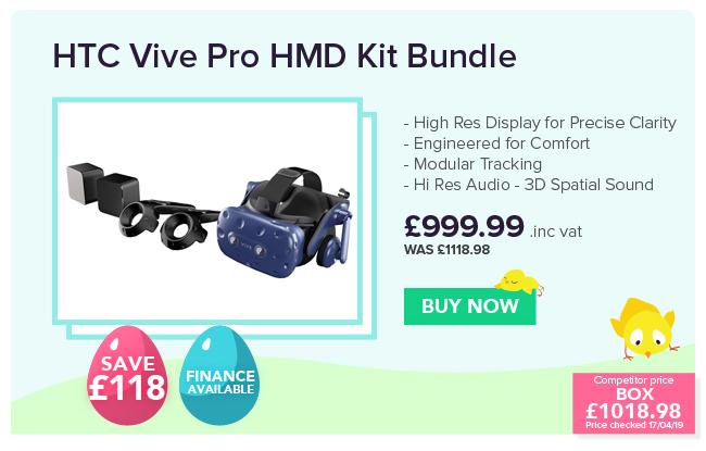 HTC Vive Pro HMD Starter Kit Bundle