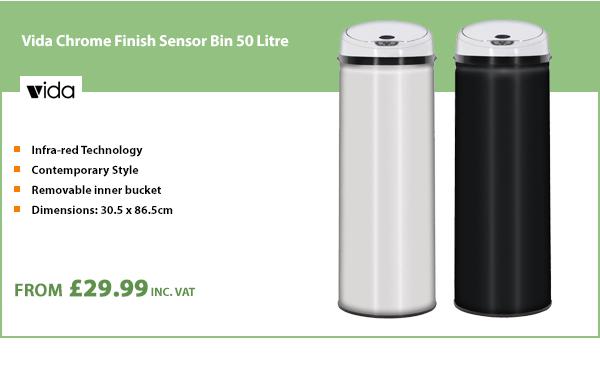 Vida Sensor Bin 50 Litre