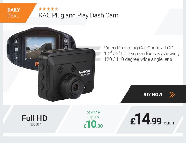 RAC FHD Plug and Play Dash Cam