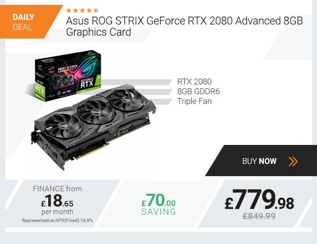 Asus ROG STRIX GeForce RTX 2080 Advanced 8GB Graphics Card