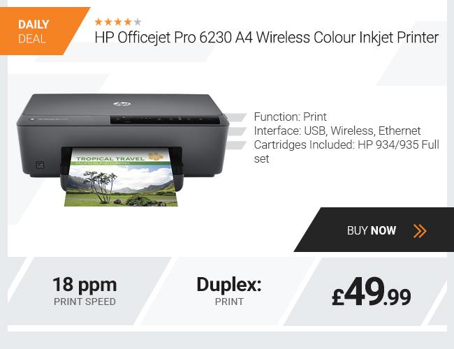 HP Officejet Pro 6230 A4 Wireless Colour Inkjet Printer