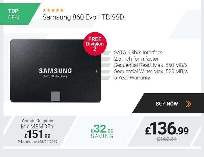 Samsung 860 Evo 1TB SSD