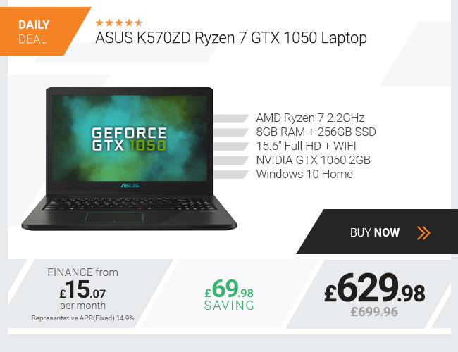 ASUS VivoBook K570ZD Laptop