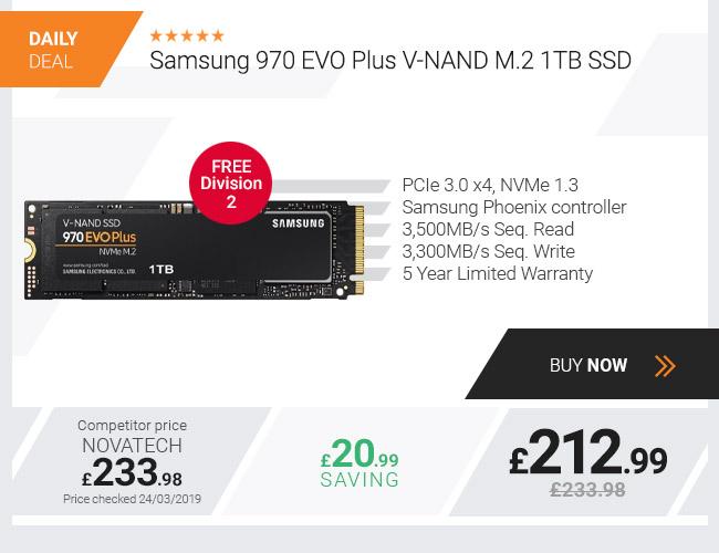 Samsung 970 EVO Plus V-NAND M.2 1TB SSD