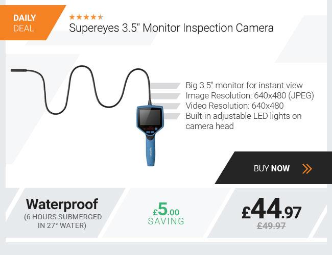 Supereyes 3.5 Monitor Inspection Camera
