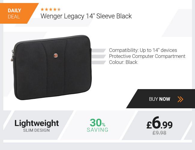 Wenger Legacy 14 Sleeve Black
