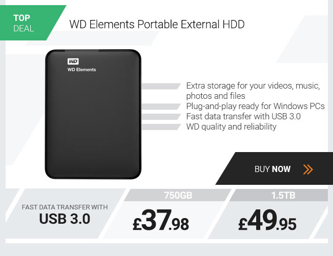 WD Elements Portable External HDD