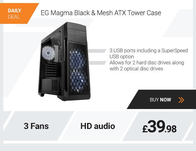 EG Magma Black & Mesh ATX Tower Case