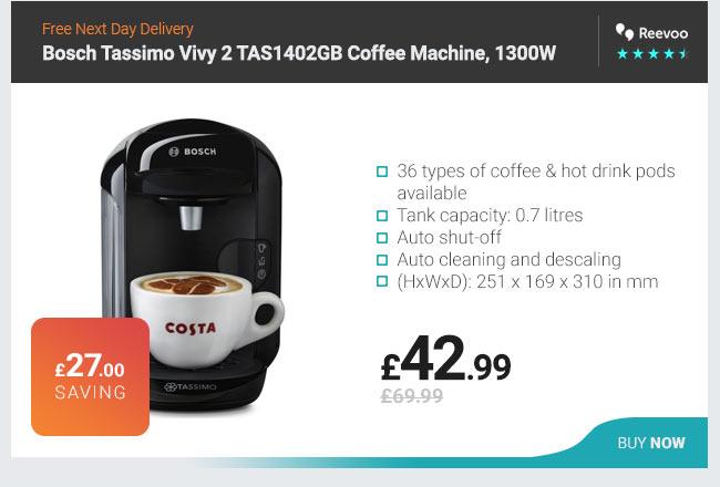 Bosch Tassimo Vivy 2 TAS1402GB Coffee Machine