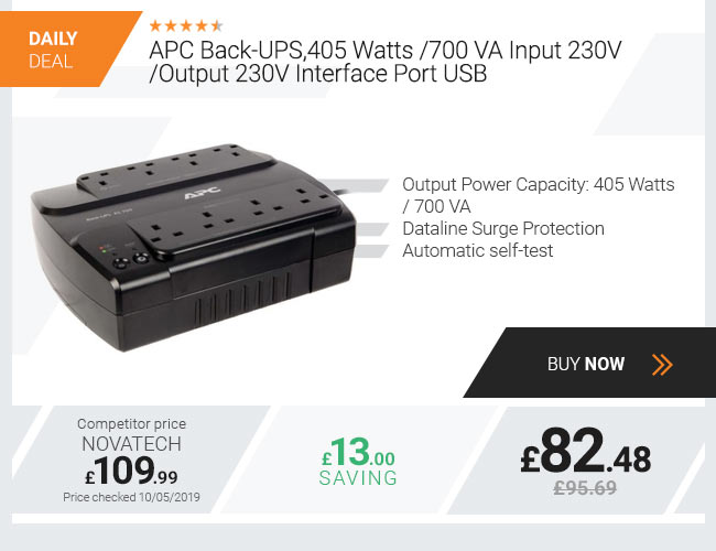 APC Back-UPS,405 Watts