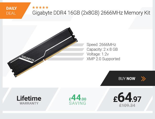 Gigabyte DDR4 16GB (2x8GB) 2666MHz Memory Kit