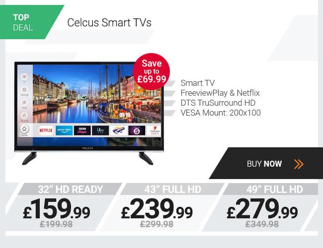Celcus 32in HD Ready Smart TV