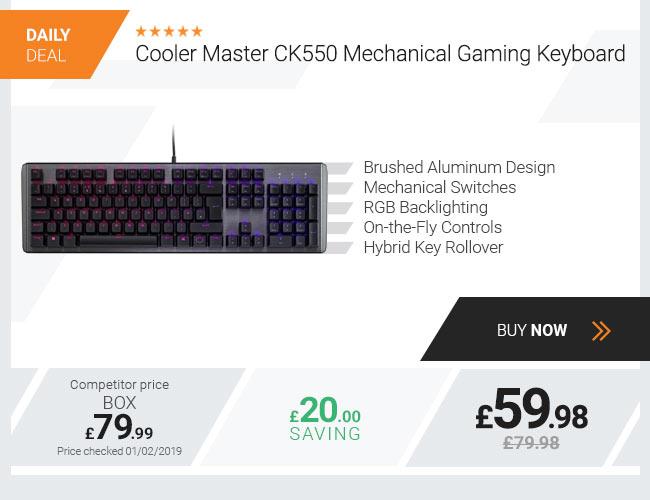 Cooler Master CK550 Mechanical Gaming Keyboard