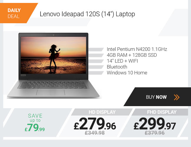 Lenovo Ideapad 120S 14in Laptop