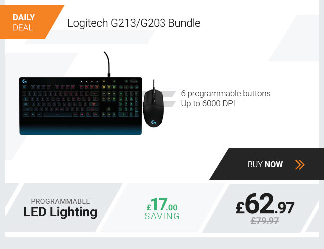 Logitech G213 G203 Bundle