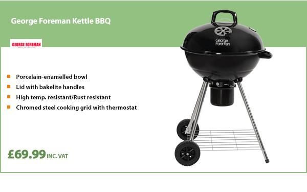 George Foreman Kettle BBQ