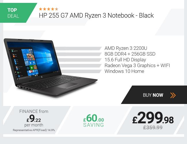 HP 255 G7 Ryzen 3 8GB 256GB Full HD 15.6in Win10 Laptop