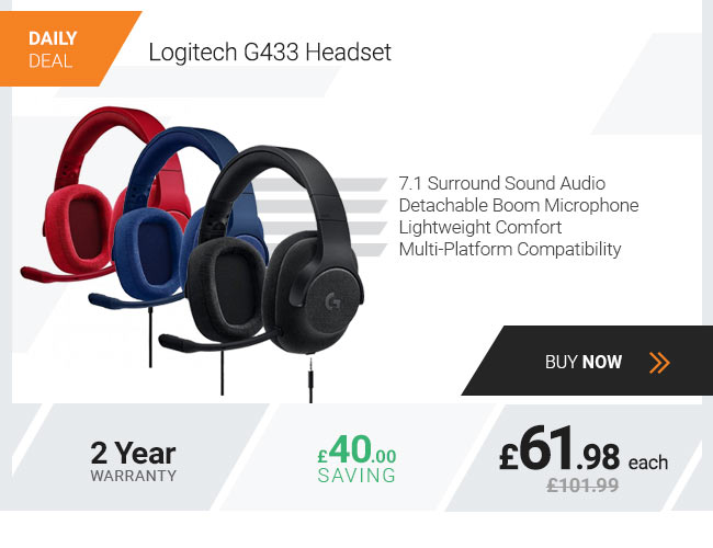 Logitech Black Headset